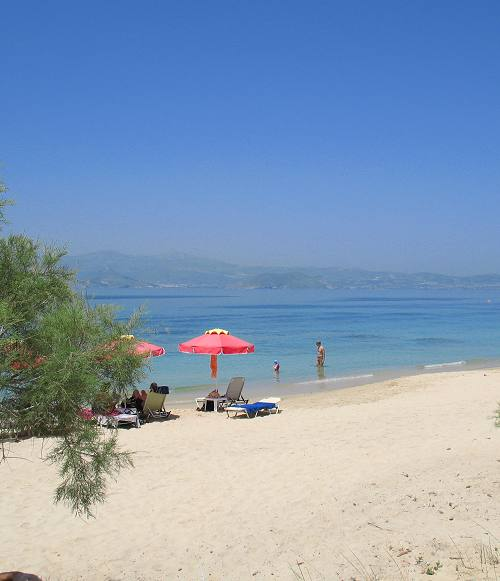 Agia Anna Beach on Naxos Island